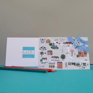 Thames-Dittom-Village-Map-notecard