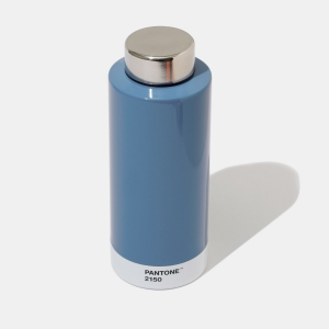 Pantone drinking bottle blue 2150