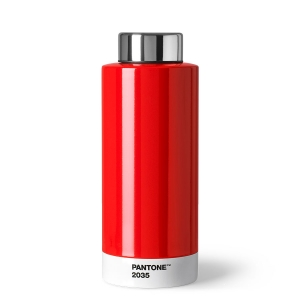 Pantone drinking bottle 2035 red