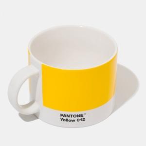 Pantone yellow 012 tea cup