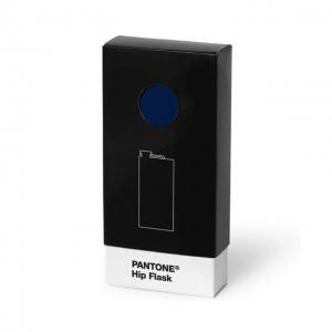 Pantone Hip Flask Dark Blue 289 box