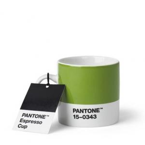 Pantone Espresso cup Green 15-0343